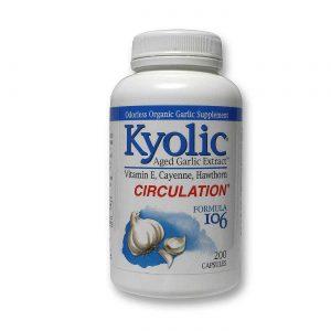 Kyolic Fórmula Kyolic 106 Coração Saudável com Vitamina E & Pimenta de Caiena 200 Cápsulas   Comprar Suplemento em Promoção Site Barato e Bom