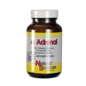 Natural Sources Todas as adrenais 60 Cápsulas   Comprar Suplemento em Promoção Site Barato e Bom