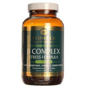 Pioneer EEstressee B fórmula Complexoa 120 Tabletes   Comprar Suplemento em Promoção Site Barato e Bom
