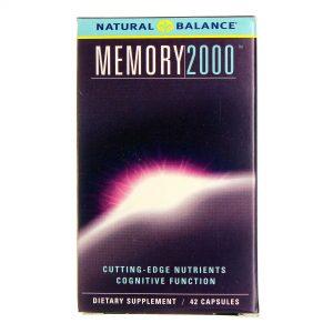 Natural Balance Memória 2000 42 Cápsulas   Comprar Suplemento em Promoção Site Barato e Bom