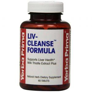 Yerba Prima Liv-Cleanse Formula 650 mg 60 Tabletes   Comprar Suplemento em Promoção Site Barato e Bom