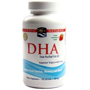 DHA 580 mg Nordic Naturals Strawberry 180 Cápsulas em Gel   Comprar Suplemento em Promoção Site Barato e Bom