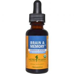 Erva Pharm Cérebro e Memória Tonic 1 onça   Comprar Suplemento em Promoção Site Barato e Bom