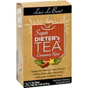 Laci Le Beau Super dieta do chá Cinn Spice 30bag   Comprar Suplemento em Promoção Site Barato e Bom