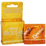 Mayer Laboratories Kimono preservativos texturizados 3CT   Comprar Suplemento em Promoção Site Barato e Bom