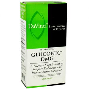DaVinci Laboratories Gluconic DMG - 60 Tabletes   Comprar Suplemento em Promoção Site Barato e Bom