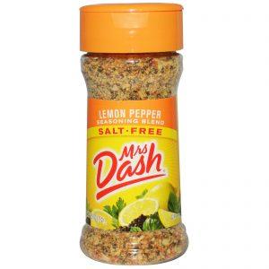 Mrs. Dash, Mistura de Temperos Pimenta e Limão, 2,5 oz (71 g)   Comprar Suplemento em Promoção Site Barato e Bom