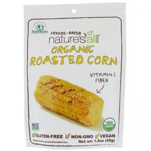 Natierra Nature's All , Organic Freeze-Dried, Roasted Corn, 1.6 oz (45 g)   Comprar Suplemento em Promoção Site Barato e Bom