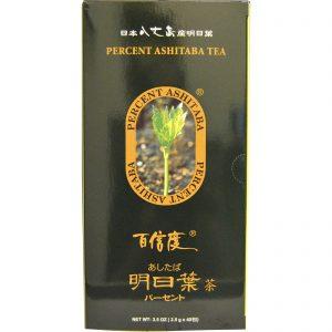 Percent Ashitaba, Chá Ashitaba PerCent, 40 Saquinhos de Chá, 2,5 (3.5 oz) Cada   Comprar Suplemento em Promoção Site Barato e Bom