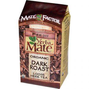 Mate Factor, Erva Mate Orgânica, Torra Escura, Chá de Ervas Solta, 12 oz (340 g)   Comprar Suplemento em Promoção Site Barato e Bom
