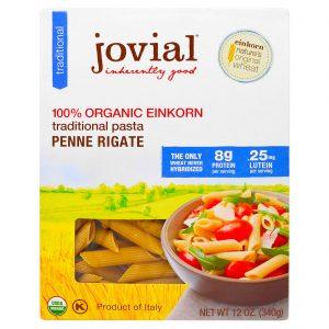 Jovial, Massa Tradicional de Einkorn Orgânica , Penne Rigate, 12 oz (340 g)   Comprar Suplemento em Promoção Site Barato e Bom