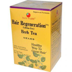Health King, Chá Fitoterápico, Regeneração Capilar, sem cafeína, 20 sachês de chá, 1.12 oz (32 g)   Comprar Suplemento em Promoção Site Barato e Bom