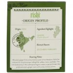 Rishi Tea, Chá verde orgânico, Maca - Gengibre, 15 saquinhos, 1.59 oz (45 g)   Comprar Suplemento em Promoção Site Barato e Bom