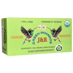 Port Trading Co., Organic, Rooibos Verde, Livre de Cafeína, 20 Sachês de Chá, 1,765 oz (50 g)   Comprar Suplemento em Promoção Site Barato e Bom