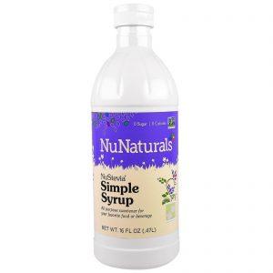 NuNaturals, NuStevia, Xarope Simples, 16 fl oz (.47l)   Comprar Suplemento em Promoção Site Barato e Bom