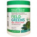 Vibrant Health, Campo orgânico de verdes, 15.03 oz (426 g)   Comprar Suplemento em Promoção Site Barato e Bom
