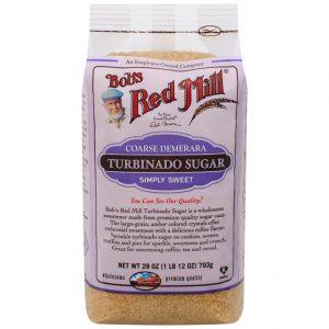 Bob's Red Mill, Açúcar Turbinado, 28 oz (793 g)   Comprar Suplemento em Promoção Site Barato e Bom