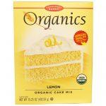 European Gourmet Bakery, Orgânicos, Mix de Bolo, Limão, 15.25 oz (432.33 g)   Comprar Suplemento em Promoção Site Barato e Bom
