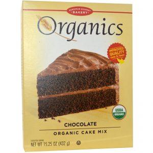 European Gourmet Bakery, Orgânicos, Mistura para Bolo, Chocolate, 15,25 oz (432 g)   Comprar Suplemento em Promoção Site Barato e Bom