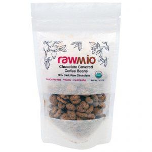 Rawmio, Chocolate Coberto com Grãos de Café, 57 g   Comprar Suplemento em Promoção Site Barato e Bom