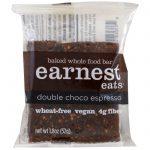 Earnest Eats, Barras Integrais Assadas, Choco Espresso Duplo, 12 Barras, 52 g (1,8 oz) Cada   Comprar Suplemento em Promoção Site Barato e Bom