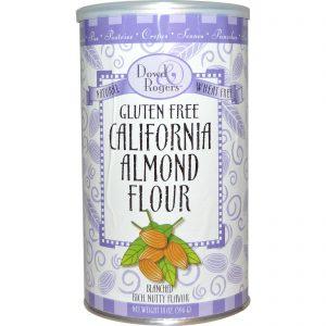 Fun Fresh Foods, Dowd & Rogers, Farinha de Amêndoas da Califórnia sem Gúten, 14 oz (396 g)   Comprar Suplemento em Promoção Site Barato e Bom
