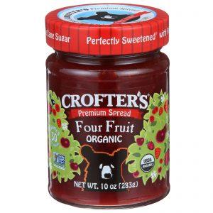 Crofter's Organic, Geleia Premium, Quatro Frutas, 10 oz (283 g)   Comprar Suplemento em Promoção Site Barato e Bom