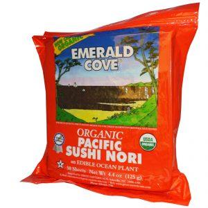 Great Eastern Sun, Enseada Esmeralda, Orgânico Nori para Sushi, 50 Folhas, 4.4 oz (125 g)   Comprar Suplemento em Promoção Site Barato e Bom