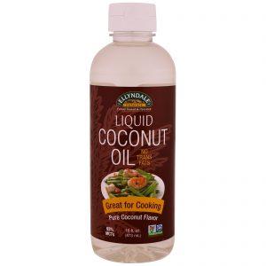 Now Foods, Ellyndale Naturals, Óleo de Coco Líquido, Sabor de Coco Puro, 473 ml   Comprar Suplemento em Promoção Site Barato e Bom