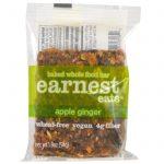 Earnest Eats, Barras Assadas Integrais, Maçã e Gengibre, 12 Barras, 54 g (1,9 oz) Cada   Comprar Suplemento em Promoção Site Barato e Bom