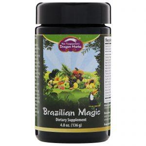 Dragon Herbs, Magia Brasileira, 4,8 onças (136 g)   Comprar Suplemento em Promoção Site Barato e Bom