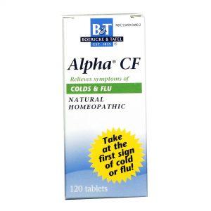 Boericke and Tafel Alpha CF gripes e resfriados 120 Tabletes   Comprar Suplemento em Promoção Site Barato e Bom
