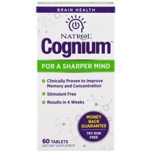 Natrol Cognium - 60 Tabletes   Comprar Suplemento em Promoção Site Barato e Bom