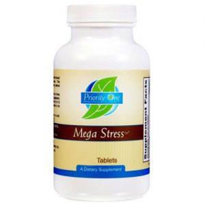 Priority One Mega Estresse - 60 Tabletes   Comprar Suplemento em Promoção Site Barato e Bom