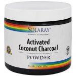 Solaray Activated Coconut Charcoal Powder - 2.65 oz   Comprar Suplemento em Promoção Site Barato e Bom