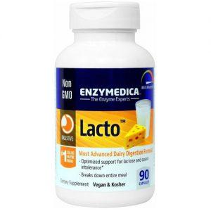 Enzymedica Lacto - 90 Cápsulas   Comprar Suplemento em Promoção Site Barato e Bom