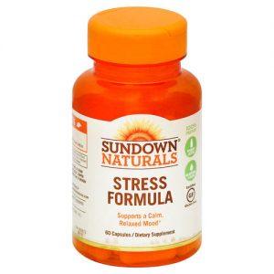 Sundown Naturals Estresse Formula - 60 Cápsulas   Comprar Suplemento em Promoção Site Barato e Bom