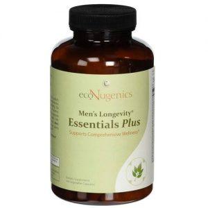 ecoNugenics Men's Longevity Essential mais - 180 Cápsulas Vegetarianas   Comprar Suplemento em Promoção Site Barato e Bom