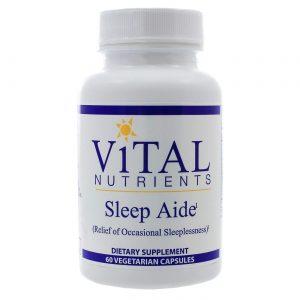 Vital Nutrients Sleep Aide - 60 VCapsules   Comprar Suplemento em Promoção Site Barato e Bom