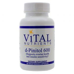 Vital Nutrients d-Pinitol 600 mg (PCOS) - 60 VCapsules   Comprar Suplemento em Promoção Site Barato e Bom