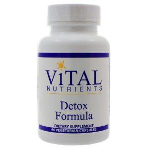Vital Nutrients Detox Formula - 60 VCapsules   Comprar Suplemento em Promoção Site Barato e Bom