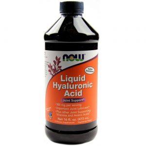 Ácido Hialurônico Líquido Now Foods 100 mg 473 ml   Comprar Suplemento em Promoção Site Barato e Bom