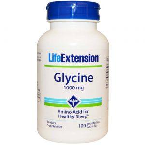 Life Extension Glicina 100 Cápsulas   Comprar Suplemento em Promoção Site Barato e Bom