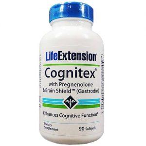 Life Extension Cognitex com pregnenolona e cérebro Escudo 90 Cápsulas   Comprar Suplemento em Promoção Site Barato e Bom