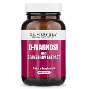 Dr. Mercola D-manose e extrato de cranberry - 60 cápsulas   Comprar Suplemento em Promoção Site Barato e Bom