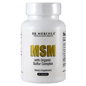 Dr. Mercola MSM com Complexo de Enxofre Orgânico - 60 Cápsulas   Comprar Suplemento em Promoção Site Barato e Bom