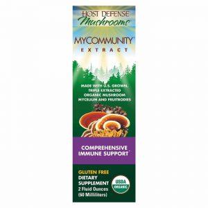 Host Defense Mushrooms MyCommunity® Extract 60 ml   Comprar Suplemento em Promoção Site Barato e Bom