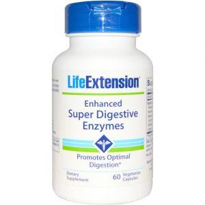 Life Extension Avançado Super enzimas digestivas 60 Cápsulas Vegetarianas   Comprar Suplemento em Promoção Site Barato e Bom