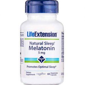 Life Extension Natural do sono Melatonina 60 Cápsulas Vegetarianas   Comprar Suplemento em Promoção Site Barato e Bom