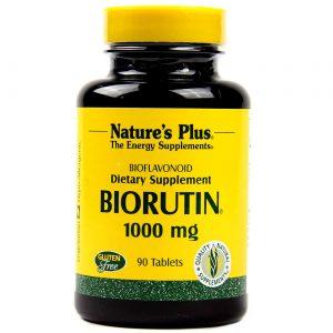 Nature's Plus BioRutina 1.000 mg 90 Tabletes   Comprar Suplemento em Promoção Site Barato e Bom